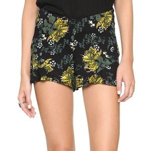 FREE PEOPLE Tropical Nights Fiona Floral Shorts